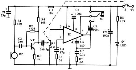 负反馈电容电路图