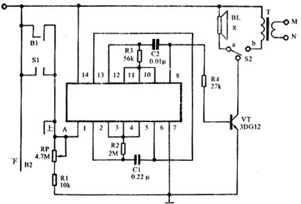 受控低频振荡器和受控音频振荡器