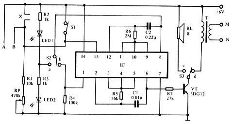 次级;也可以直接用电子管