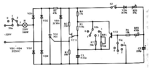 张弛振荡器充电电路时间常数由大向小连续变化
