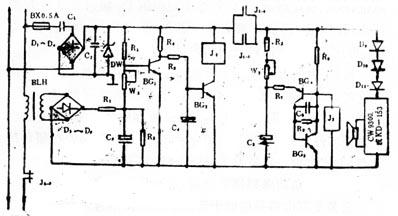 bg3为pnp型三极管