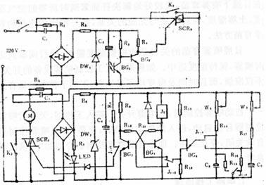 三级管参数测量仪电路图